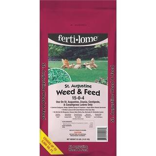 VPG Fertilome 32Lb St Aug Weed & Feed 10917 Unit: EACH|https://ak1.ostkcdn.com/images/products/is/images/direct/30a65d04ac3a72d9dd7aa69ede2a5aba0457dd97/VPG-Fertilome-32Lb-St-Aug-Weed-%26-Feed-10917-Unit%3A-EACH.jpg?impolicy=medium