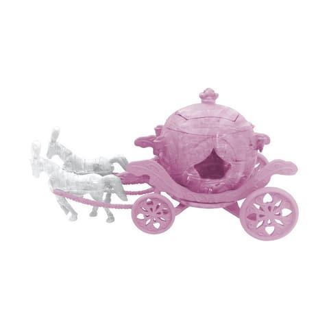 3D Crystal Puzzle - Royal Carriage - 63 Pcs