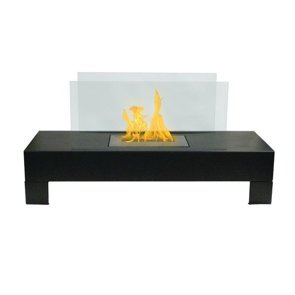 Gramercy (Black) Bio Ethanol Ventless Fireplace