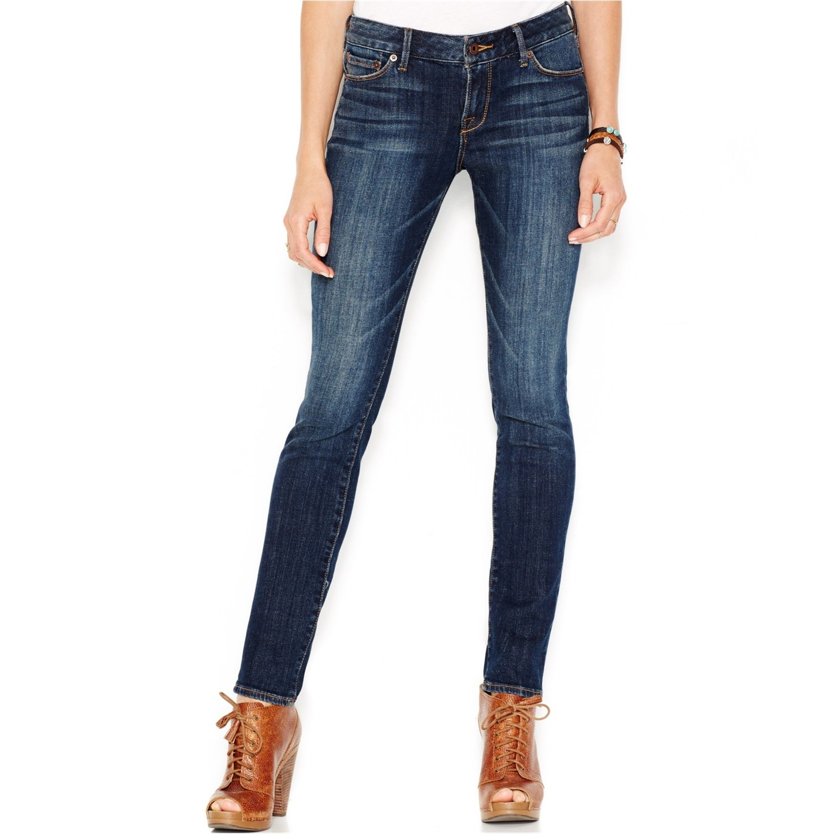 Lucky Brand Womens Lolita fray Skinny Fit Jeans