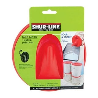 Shur-Line 1783844 Pour And Store Paint Can Lid, 1 Gallon