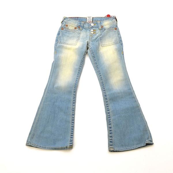 True Religion Morgan Flare Jeans In Zuma