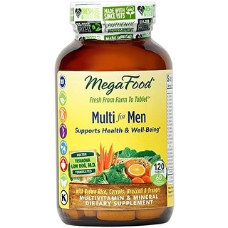 MegaFood - Multi for Men, A Balanced Whole Food Multivitamin, 120 Tablets
