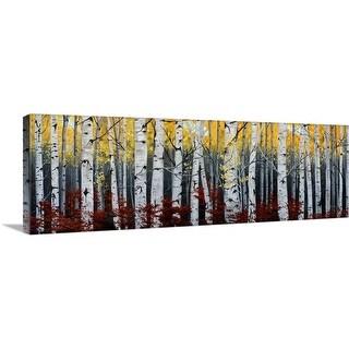 """""""Birch Forest"""" Canvas Wall Art"""