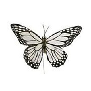 """Midwest Design Butterfly 5"""" Feather Wire W/B 1pc"""