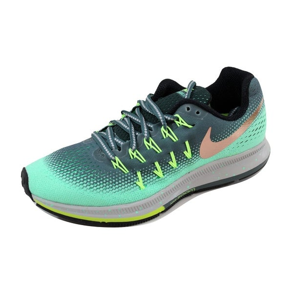 Nike Women's Air Zoom Pegasus 33 Shield Anthracite/White-Wolf Grey 849567-300 Size 6.5