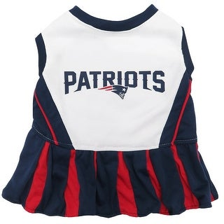 NFL New England Patriots Cheerleader Dress For Dogs And Cats