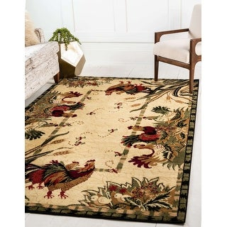 Link to Unique Loom Farm Barnyard Area Rug Similar Items in Classic Rugs