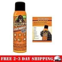 Gorilla 6301502 14 oz Spray Adhesive - Pack of 6