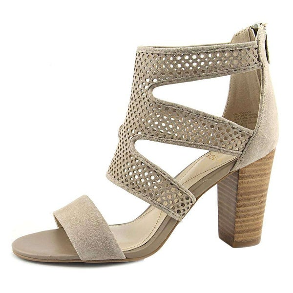 Isola Womens Kaley Fabric Open Toe Casual Strappy Sandals - 8.5