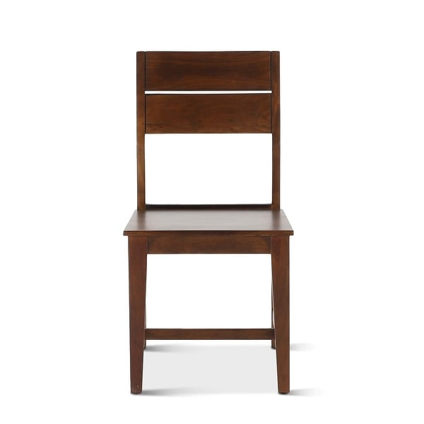 Mapai Acacia Wood Dining Chairs, Set of 2. Opens flyout.