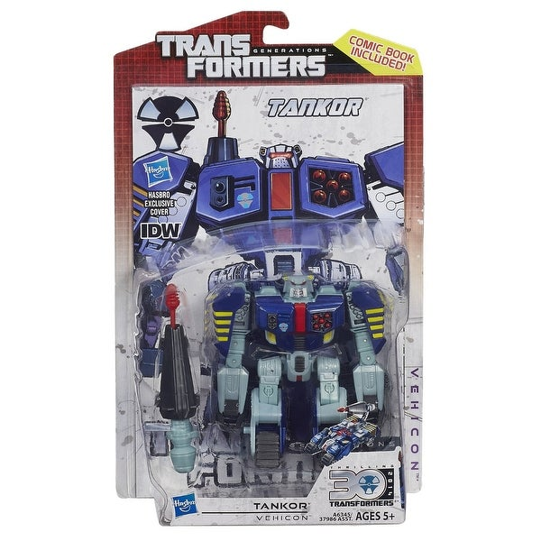 Transformers Generations Deluxe Class Figure: Tankor - multi
