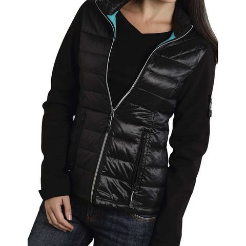 Roper Western Jacket Womens Cute Quilted Black