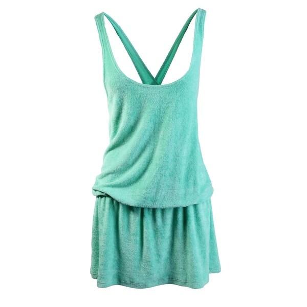222a0b62bd Shop Splendid Womens Terry Cloth Cross Back Dress Swim Cover-Up ...