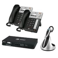 ATT SB35010 Plus 2x SB35025 Plus 1x TL7800 ATT Syn 248 SB35010 With 2 Multi-Line Desksets Plus Cordless  headset