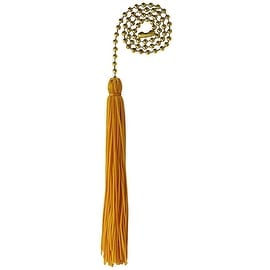 """Westinghouse 12"""" Brass Pull Chain"""
