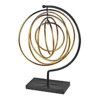 Sterling Industries 129-1063 Metal Accessory - gold leaf/black - N/A