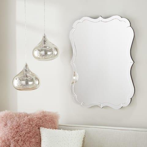 Abbyson Olivia Rectangle Wall Mirror - N/A
