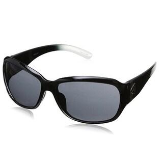 Ryders Eyewear Akira Black/Clear Frame With Grey Lens