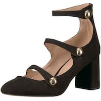 BCBGeneration Womens bernadette Closed Toe Casual Ankle Strap Sandals