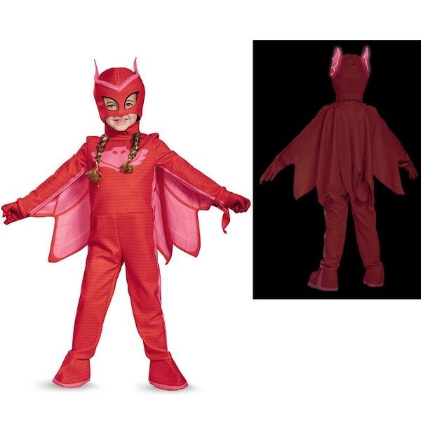Pj Masks Halloween Costume.Toddler Pj Masks Deluxe Owlette Costume