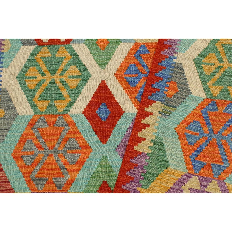 Tribal Turkish Kilim Fausto Hand Woven Area Rug 3 4 X 4 10 Overstock 32540861
