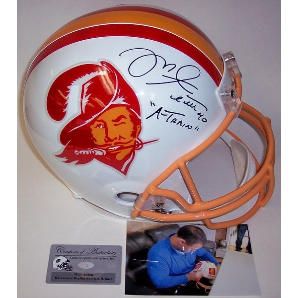 Shop Mike Alstott Autographed Hand Signed Tampa Bay Buccaneers Throwback  Full Size Helmet - Free Shipping Today - Overstock - 13484036 a4f3a559c