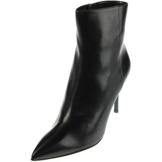 Fendi Womens Anne Leather Pointed Toe Booties - 38