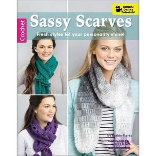 Leisure Arts-Sassy Scarves