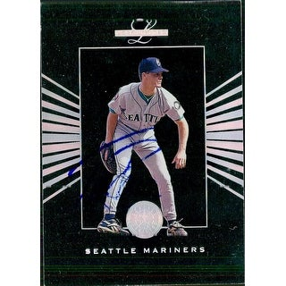Signed Davis Tim Seattle Mariners 1994 Donruss Baseball Card Smudged signature autographed