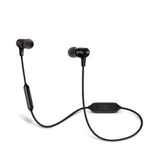 JBL E25BT Wireless Bluetooth In-Ear Headphones Black - 5.9 x 2 x 3.9
