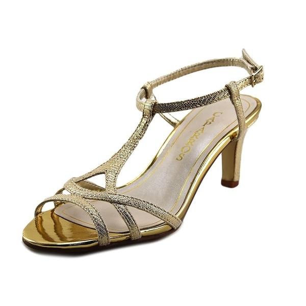 Caparros Bonita   Open Toe Canvas  Sandals