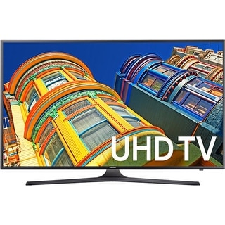 Samsung UN60KU6300FXZA 60-inch 4K Ultra HD Smart LED TV - 3840 x (Refurbished)
