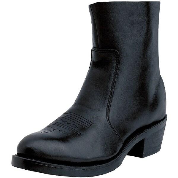 Shop Durango Western Boots Mens 7 Quot Side Zipper Cowboy Heel