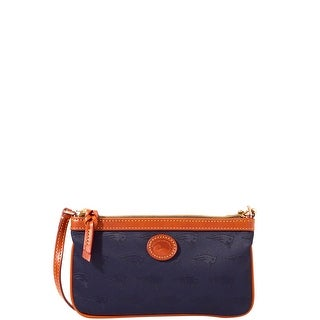Dooney & Bourke NFL New England Patriots Large Slim Wristlet (Introduced by Dooney & Bourke at $88 in Apr 2018)