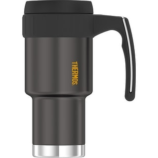 Thermos 20oz Work Series Ss Travel Mug Gun Metal 3910gmtri6