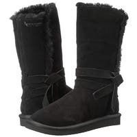 Koolaburra Womens Rozalia Fabric Closed Toe Mid-Calf Fashion Boots - 9
