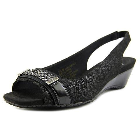2a6e451630a3 Anne Klein Womens Harmonia Open Toe Casual Slingback Sandals.  52.50.  Details. Anne Klein Women s Teela Wedge Sandal