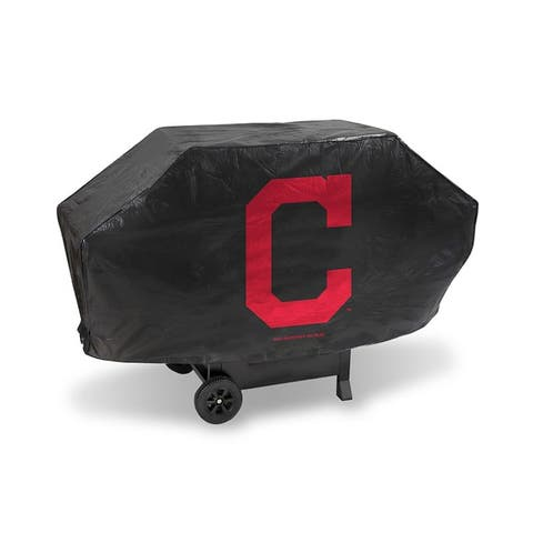 """Cleveland Indians Grill Cover Deluxe - 68"""" W x 35"""" H x 21"""" D"""
