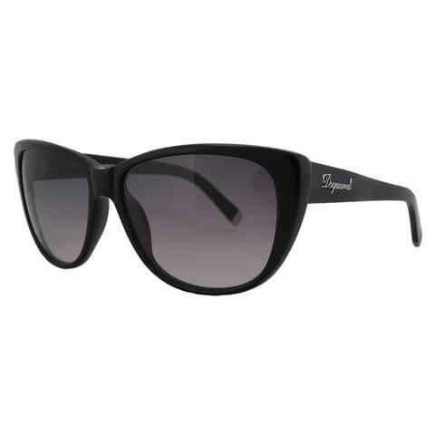DSquared DQ 0080 01V Black Rectangle Full Rim Sunglasses - 59-15-140