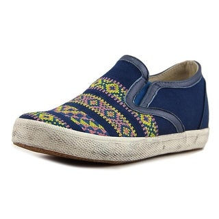 Kim & Zozi Decca Women Round Toe Canvas Blue Sneakers