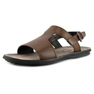 Tod's Fashion New Sandalo Open-Toe Leather Slingback Sandal