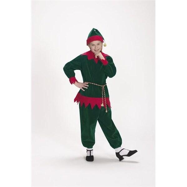 72f56cd115cd8 Halco 1197 Velvet Elf Suit- Size Child 4-8