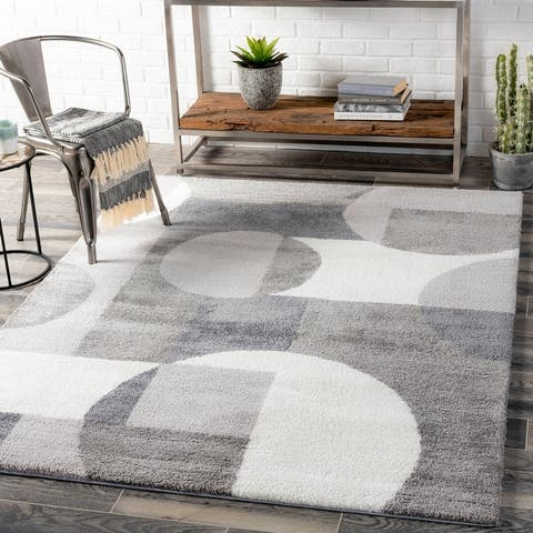 Bullette Modern Plush Area Rug