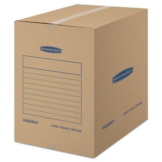 Smoothmove Basic Moving Boxes, Kraft - 18 L x 18 W x 24 H in.