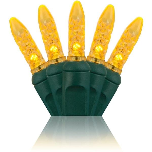 Wintergreen Lighting 20332 70 Bulb M5 Gold LED Christmas Lights