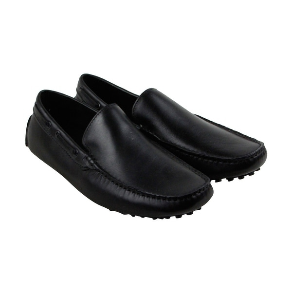 Kenneth Cole New York Peer Pressure Mens Black Casual Dress Loafers Shoes