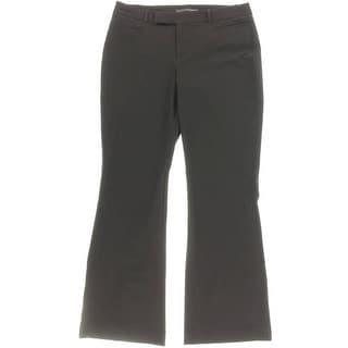 Harve Benard Womens Modern Boot Cut Dress Pants