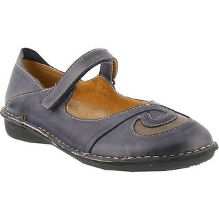 Spring Step Women's Cosmic Blue Leather