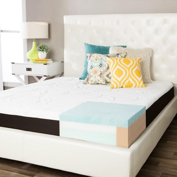 ComforPedic from Beautyrest Choose Your Comfort 8-inch Gel Memory Foam Mattress. Opens flyout.